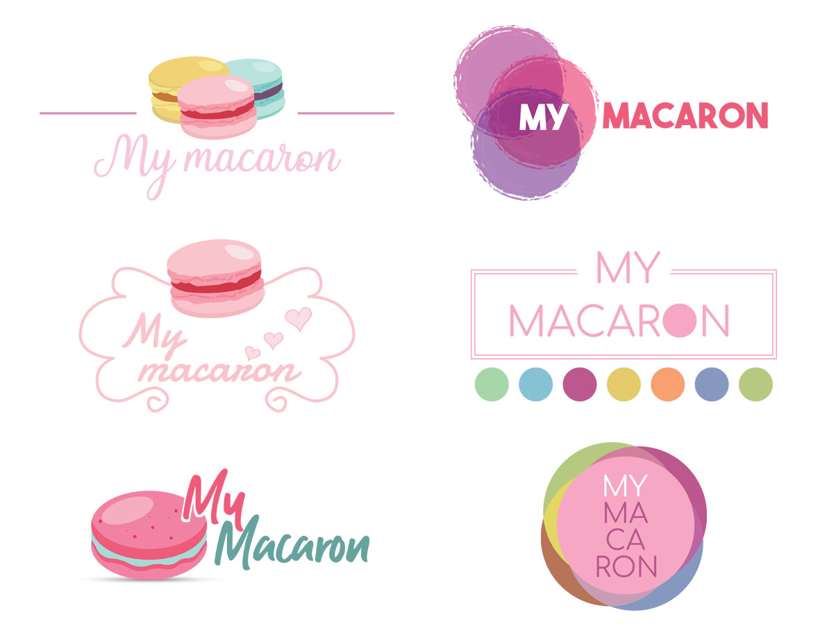 Logo - My macaron